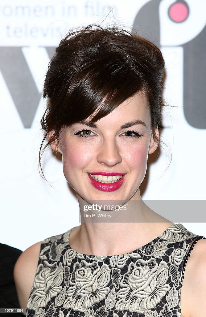 Jessica Raine poses for a photograph in the press room at the Women in TV & Film Awards at London Hilton on December 7, 2012 in London, England.