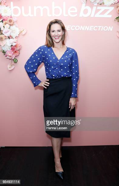Jessica Ridley attends the Bumble Bizz launch on March 20 2018 in Sydney Australia