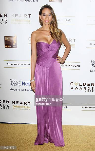 Jessica Rizzo arrives at the 12th Annual Golden Heart Awards Gala held at the Beverly Wilshire Four Seasons Hotel on May 7 2012 in Beverly Hills...