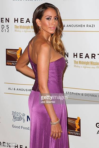 Jessica Rizzo arrives at the 12th Annual Golden Heart Awards Gala at the Beverly Wilshire Four Seasons Hotel on May 7 2012 in Beverly Hills California