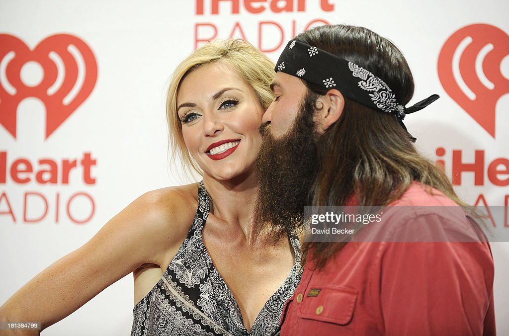 Jessica Robertson (L) and Jep Robertson of Duck Dynasty attend the iHeartRadio Music Festival at the MGM Grand Garden Arena on September 20, 2013 in Las Vegas, Nevada.