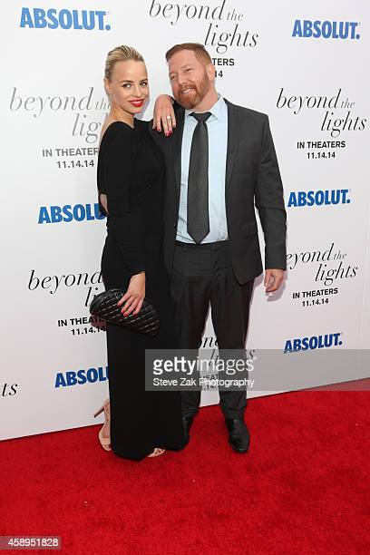 Jessica Roffey and CEO of Relativity Media Ryan Kavanaugh attend The New York Premiere Of Relativity Media's 'Beyond the Lights' at Regal Union...