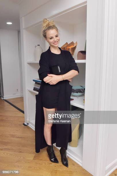 Jessica Roffey attends FENDI x Flaunt Celebrate The New Fantasy Issue at Casa Perfect on March 21 2018 in Beverly Hills California