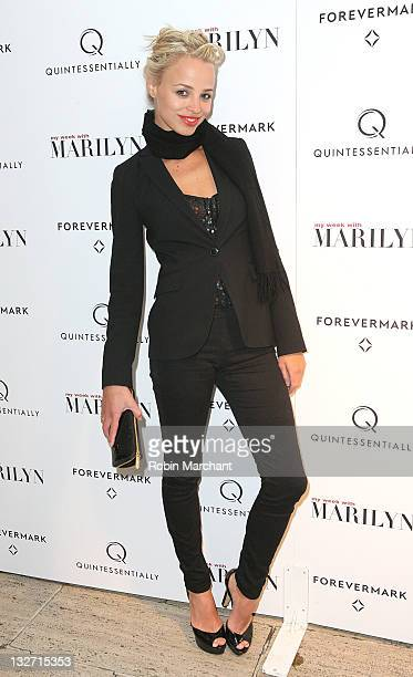 Jessica Roffey attends the My Week With Marilyn New York premiere at The Paris Theatre on November 13 2011 in New York City