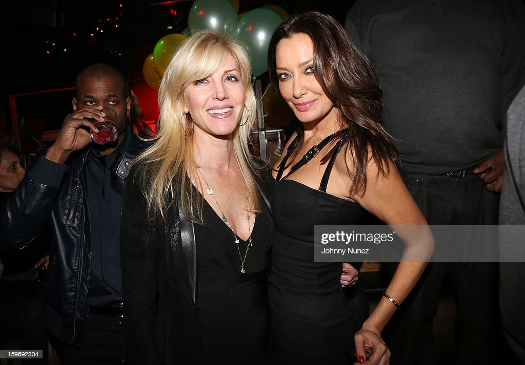 Jessica Rosenblum and Sky Nellor attend Barry Mullineaux's Birthday Party at Greenhouse on January 17, 2013 in New York City.