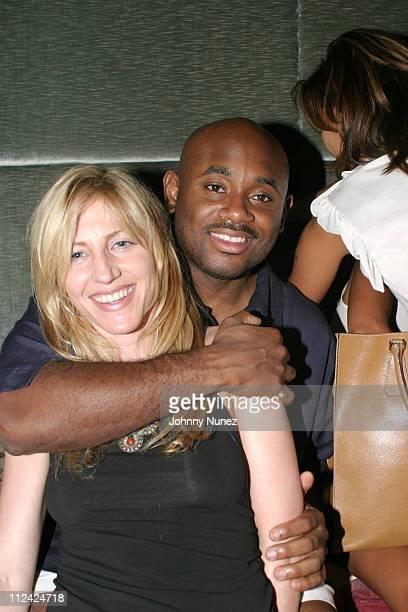 Jessica Rosenblum and Steve Stoute during Jessica Rosenblum's Party at Dorsica at Dorscia in New York City New York United States