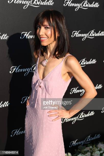 Jessica Ross attends The Honey Birdette Bodyguard Collection Launch Party at Petit Ermitage on August 01 2019 in Hollywood California