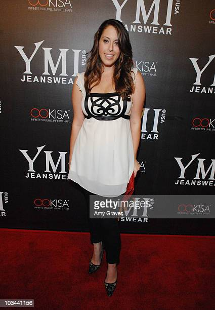 Jessica Roth attends the YMI Jeanswear 5th Annual Fashion Show and AfterParty at the Music Box Theatre on October 6 2008 in Hollywood California
