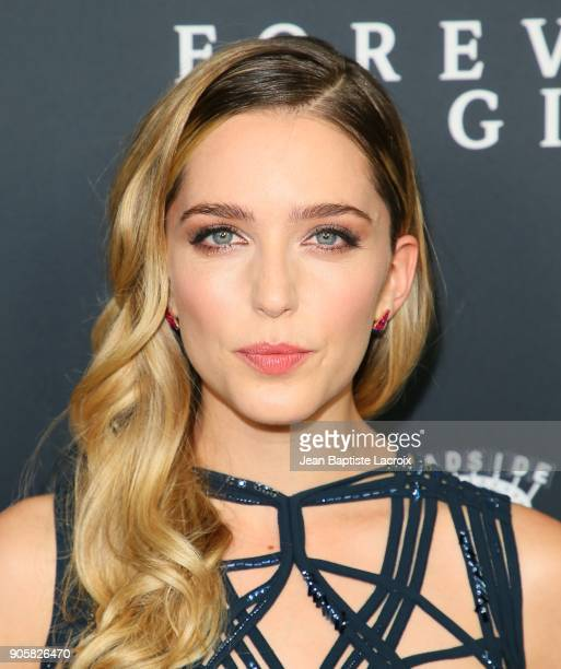 Jessica Rothe attends the premiere of Roadside Attractions' 'Forever My Girl' on January 16 2018 in Los Angeles California
