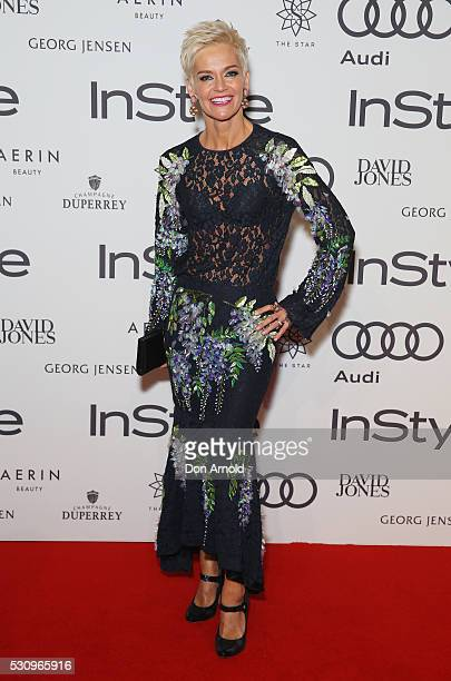 Jessica Rowe arrives ahead InStyle and Audi Women of Style Awards at The Star on May 12 2016 in Sydney Australia
