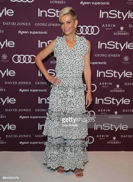 Jessica Rowe arrives ahead of the Women of Style Awards at The Star on May 17 2017 in Sydney Australia