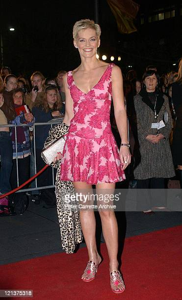 Jessica Rowe arrives for the premiere of the film 'Charlie's Angels Full Throttle' at Customs Square Circular Quay on June 05 2003 in Sydney Australia