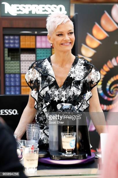 Jessica Rowe attends the 2018 Vertuo Influencer Activation at Broadway Shopping Centre on May 5 2018 in Sydney Australia