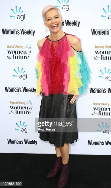 Jessica Rowe attends the Women of the Future Awards at Quay on September 5 2018 in Sydney Australia