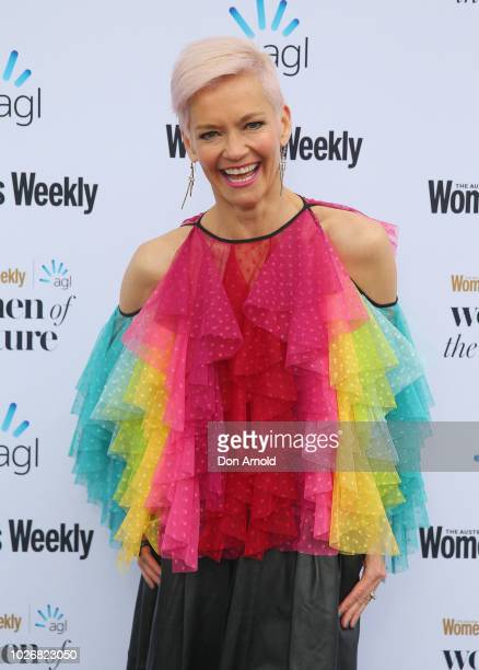 Jessica Rowe attends the Women of the FutureAwards at Quay on September 5 2018 in Sydney Australia