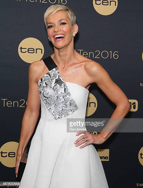 Jessica Rowe poses at The Star during the Network 10 Content Plan 2016 event on November 19 2015 in Sydney Australia