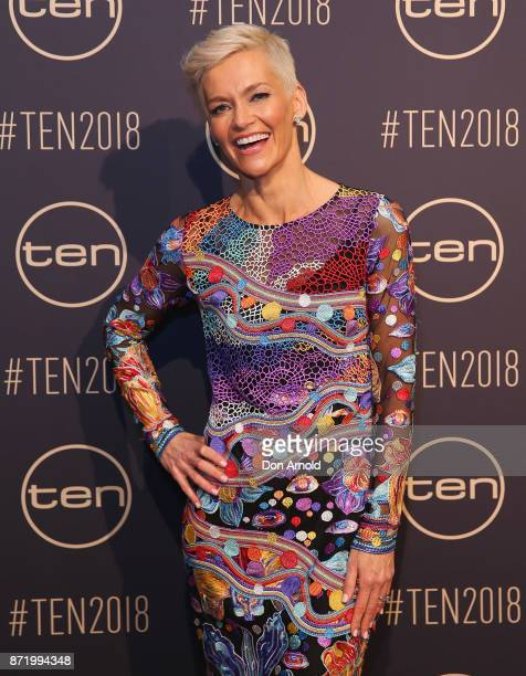 Jessica Rowe poses during the Network Ten 2018 Upfronts on November 9 2017 in Sydney Australia