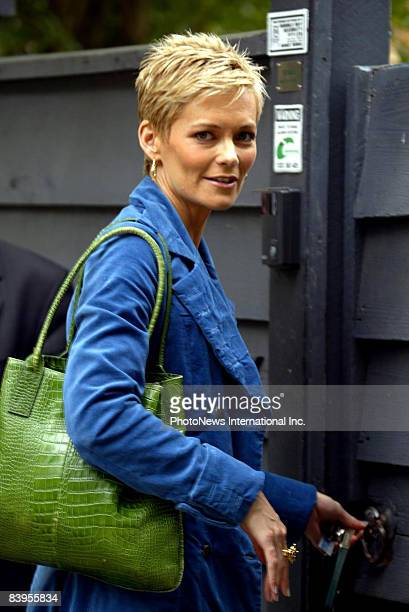 Jessica Rowe talks to reporters on June 30 2008 in Sydney Australia Rowe was guaranteed by Eddie McGuire that her $500000 ayear job as host on the...