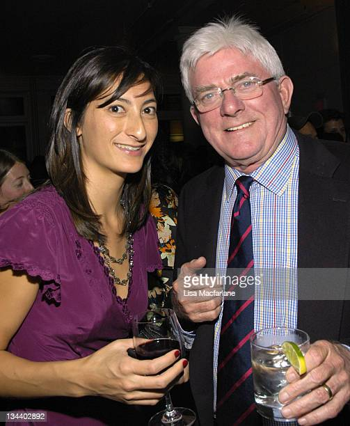 Jessica Sanders director and Phil Donahue during After Innocence New York City Screening and After Party at Loews 19th Street Theater in New York...