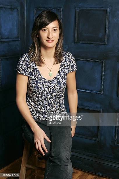 Jessica Sanders director of After Innocence during 2005 Sundance Film Festival After Innocence Portraits at HP Portrait Studio in Park City Utah...