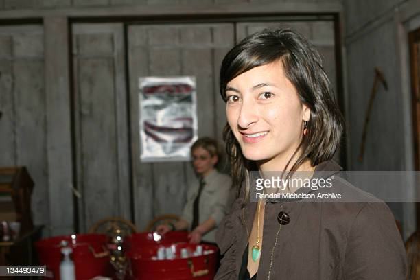 Jessica Sanders director of After Innocence during 2005 Sundance Film Festival After Innocence After Screening Party at Grub Steak in Park City Utah...