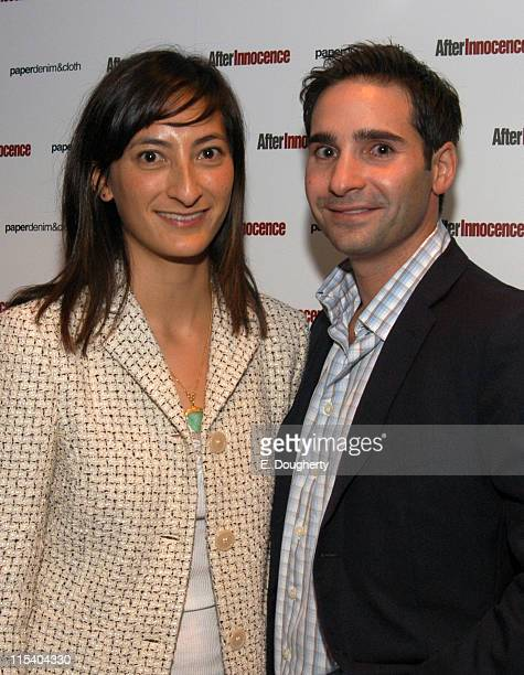 Jessica Sanders Writer and Director of After Innocence with Marc Simon Producer