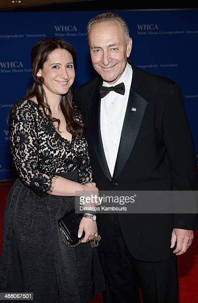 Jessica Schumer and Senator Chuck Schumer attend the 100th Annual White House Correspondents' Association Dinner at the Washington Hilton on May 3...