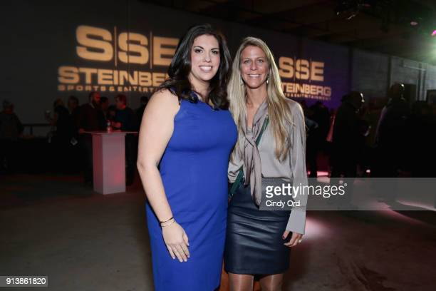 Jessica Schwartz and Rianne Schorel attend Leigh Steinberg Super Bowl Party 2018 on February 3 2018 in Minneapolis Minnesota