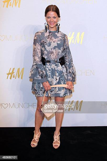 Jessica Schwarz attends the HM store opening on April 9 2014 in Munich Germany
