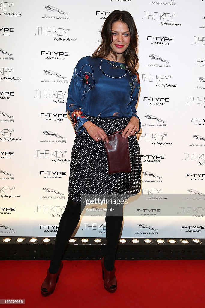 Jessica Schwarz attends the Jaguar F-Type short film 'The Key' Premiere at e-Werk on April 13, 2013 in Berlin, Germany.