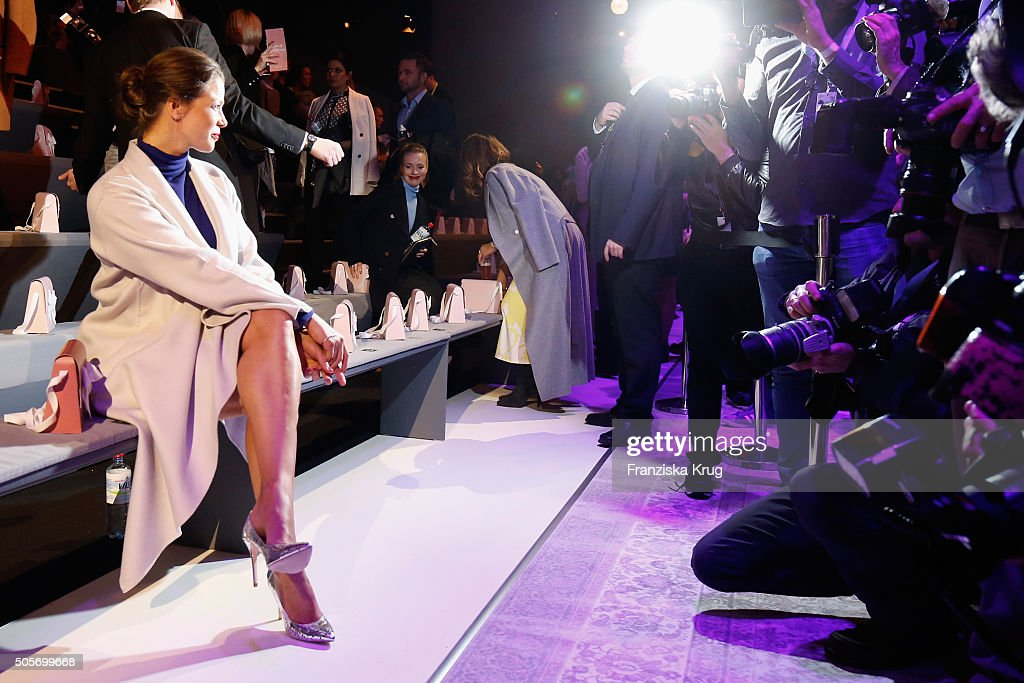 Marc Cain Arrivals - Mercedes-Benz Fashion Week Berlin Autumn/Winter 2016