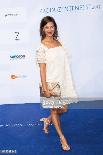 Jessica Schwarz attends the Summer Party of the German Producers Alliance on July 12 2017 in Berlin Germany