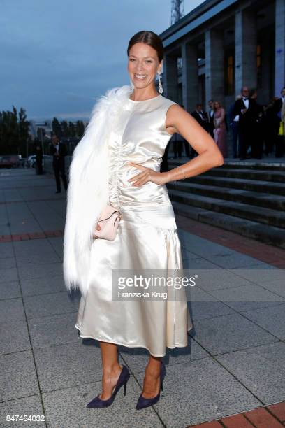 Jessica Schwarz attends the UFA 100th anniversary celebration at Palais am Funkturm on September 15 2017 in Berlin Germany
