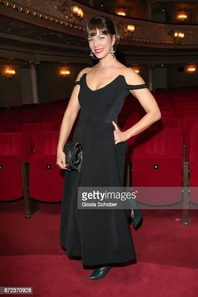 Jessica Schwarz during the show of the GQ Men of the year Award 2017 at Komische Oper on November 9 2017 in Berlin Germany