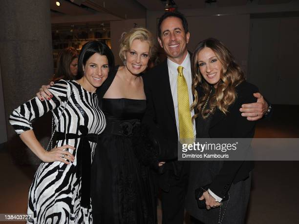 Jessica Seinfeld Ali Wentworth Jerry Seinfeld and Sarah Jessica Parker attend the book launch party for Ali Wentworth's new book Ali In Wonderland at...