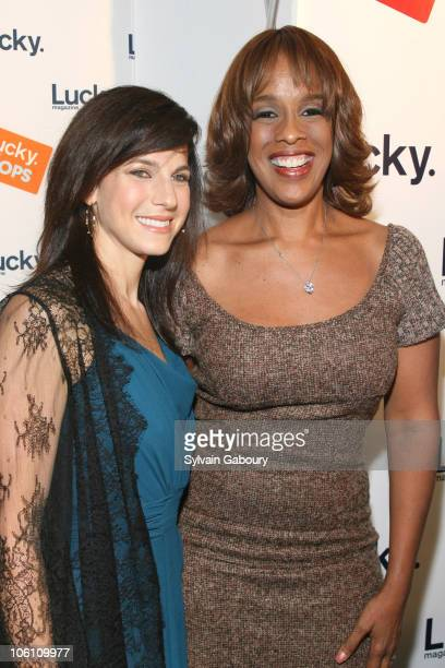 """Jessica Seinfeld and Gayle King during Lucky Magazine Hosted its 3rd Annual """"Lucky Shops"""" - Red Carpet at Gotham Hall at 1356 Broadway at 36th Street..."""