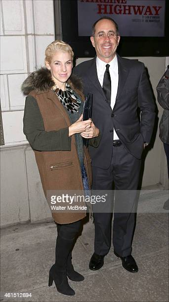 Jessica Seinfeld and Jerry Seinfeld attend the Broadway Opening Night Performance of The Manhattan Theatre Club's production of 'Constellations' at...