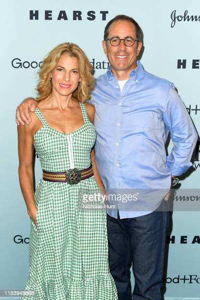 Jessica Seinfeld and Jerry Seinfeld attend the GoodFoundation 2019 Bash presented by Hearst and Johnson Johnson at Victorian Gardens in Central Park...