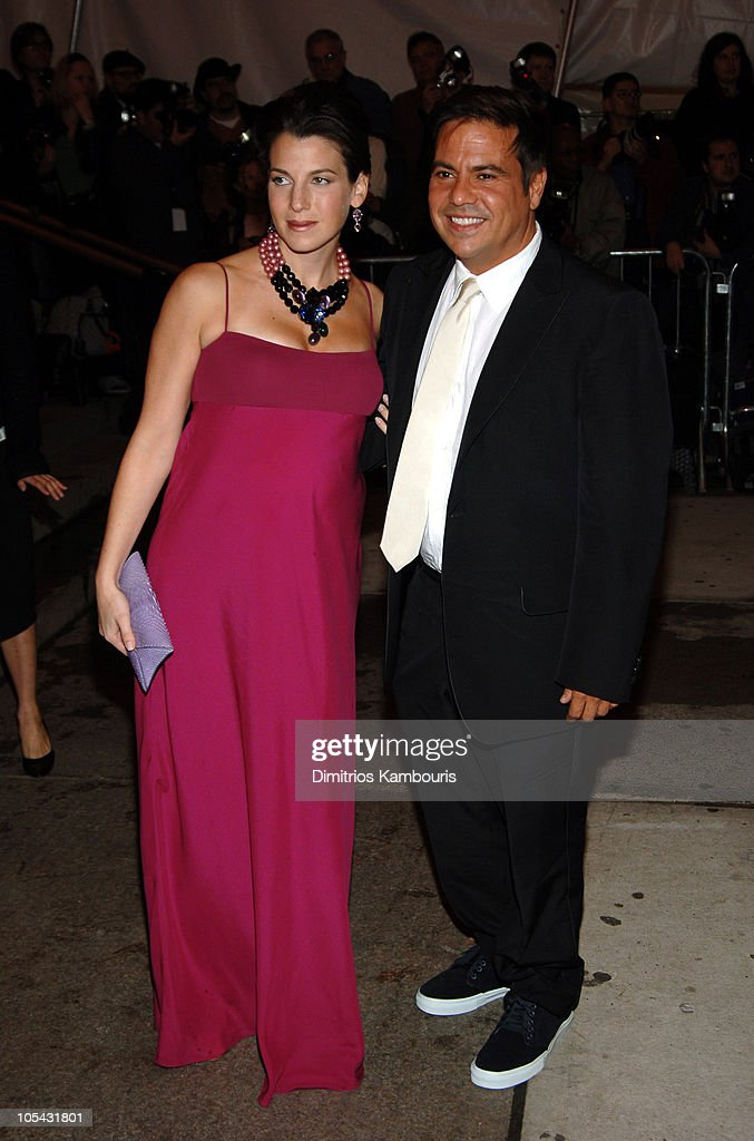 Jessica Seinfeld and Narciso Rodriguez during 'Chanel' Costume Institute Gala at The Metropolitan Museum of Art - Arrivals at The Metropolitan Museum of Art in New York City, New York, United States.