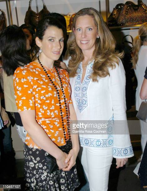 Jessica Seinfeld and Simone Levinson during Gucci Celebrates The Opening of The New East Hampton Store - June 3, 2006 at Gucci Store in East Hampton,...