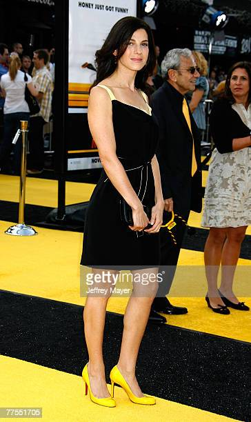 Jessica Seinfeld arrives to the Los Angeles premiere of Bee Movie at the Mann Village Theatre on October 28 2007 in Westwood California