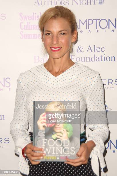 Jessica Seinfeld attends Author's Night 2017 to benefit the East Hampton Library on August 12 2017 in East Hampton New York