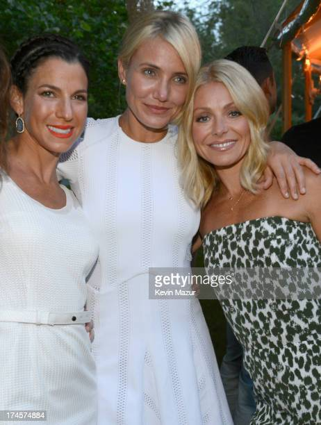 Jessica Seinfeld, Cameron Diaz and Kelly Ripa attend the Baby Buggy Summer Dinner hosted by Jessica and Jerry Seinfeld and rag & bone on July 27,...