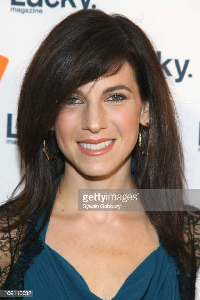 """Jessica Seinfeld during Lucky Magazine Hosted its 3rd Annual """"Lucky Shops"""" - Red Carpet at Gotham Hall at 1356 Broadway at 36th Street in New York..."""
