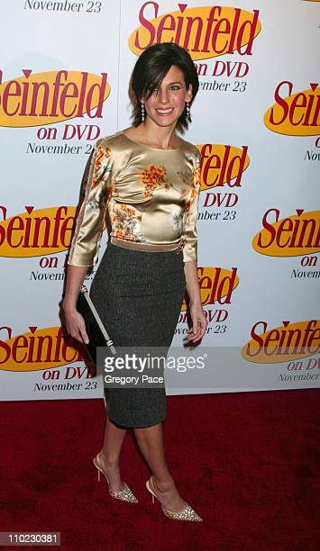 Jessica Seinfeld during Seinfeld DVD Release Party at Rockefeller Plaza in New York City New York United States