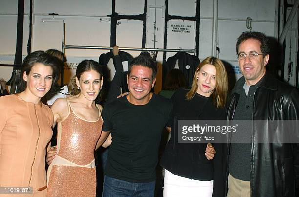 Jessica Seinfeld, Sarah Jessica Parker, Narciso Rodriguez, Claire Danes and Jerry Seinfeld