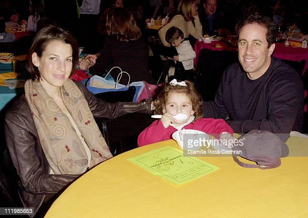 Jessica Seinfeld, Sascha Seinfeld and Jerry Seinfeld