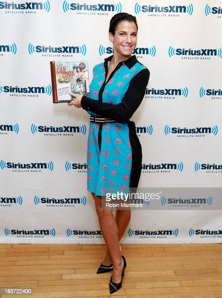 Jessica Seinfeld visits SiriusXM Studios on October 9 2013 in New York City