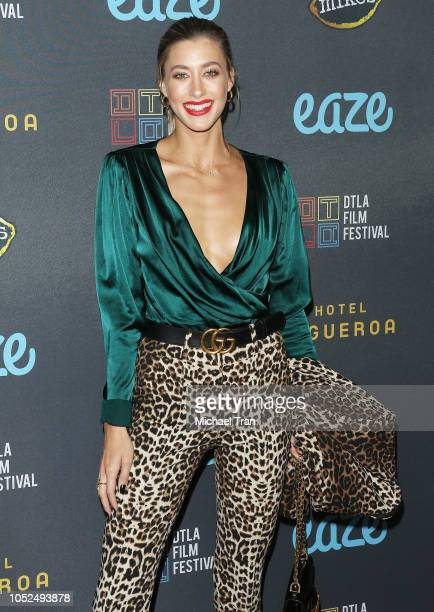 """Jessica Serfaty attends the 2018 Downtown Los Angeles Film Festival - """"All Creatures Here Below"""" """"Original Sin"""" And Perception"""" Press line held at..."""