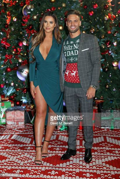 Jessica Shears and Dom Lever attend the UK Premiere of 'Daddy's Home 2' at the Vue West End on November 16 2017 in London England